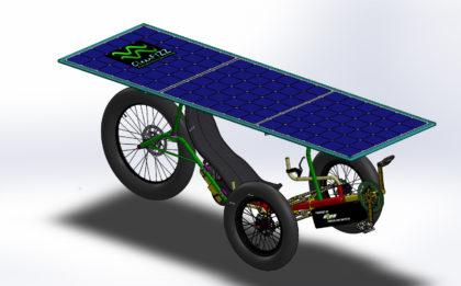 Fat Trike électrique solaire