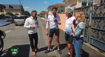 """EcoSunriders dans l'émission """" Au Tour Du Vélo"""" présentée par Gérard Holtz"""